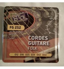 CORDES GUITARE FOLK FG252