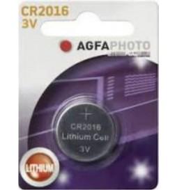 PILE AGFAPHOTO  CR2016 3V  1 PIECE