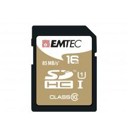 CARTE SDHC EMTEC 16GB CL10 GOLD85 MB/S