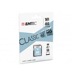 CARTE SDHC EMTEC 16 GB CL10