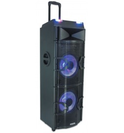 STANDUP-PRODJ ENCEINTE DJ 1000W MAX W/BT RC DUAL USB FM LED