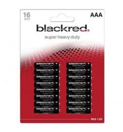 16 PILES LR03 BLACKRED AAA