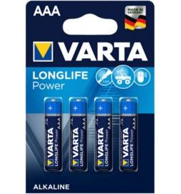 4 PILES LR03 VARTA HIGH ENERGY AAA