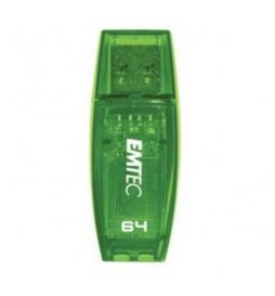 CLE USB 64GB EMTEC C410 VERT