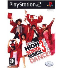 JEU PS2 HIGH SCHOOL MUSICAL 3 DANCE ! NOS ANNÉES LYCÉE