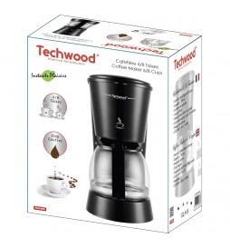 CAFETIERE 6 TASSES NOIR TECHWOOD TCA-686