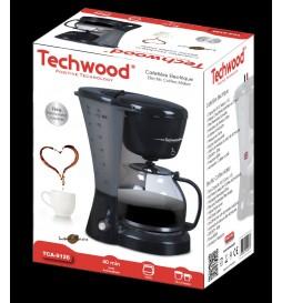 CAFETIERE ELECTRIQUE NOIRE TECHWOOD TCA-9126