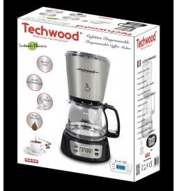CAFETIERE PROGRAMMABLE NOIR/SILVER TECHWOOD TCA-840