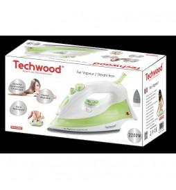 FER A VAPEUR TECHWOOD 2200W BLANC/VERT TFV-226C