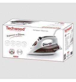 FER A VAPEUR TECHWOOD 2400W BLANC/BRUN TFV-2408C