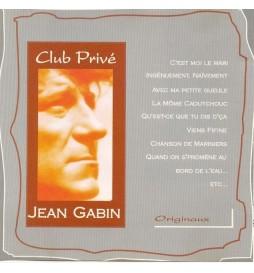 CD CLUB PRIVE - JEAN GABIN