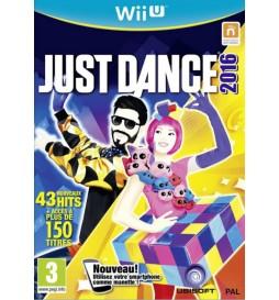 JEU WII U JUST DANCE 2016