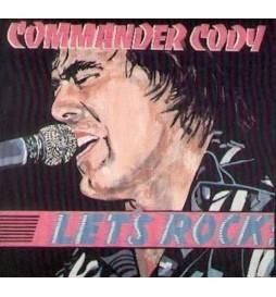 VINYLE COMMANDER CODY LET'S ROCK