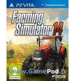JEU PS VITA FARMING SIMULATOR 2014