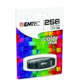 CLE USB EMTEC 256GB C410 NOIR 3.0
