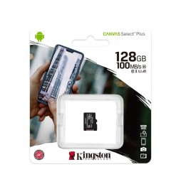 CARTE MICRO SDXC KINGSTON  128GB CL10