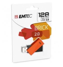 CLE USB EMTEC 128GB  C350 BRICK