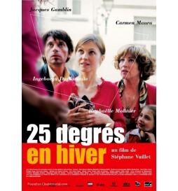 DVD 25 DEGRÉS EN HIVER