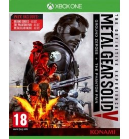 JEU XBOX ONE METAL GEAR SOLID V : THE DEFINITIVE EXPERIENCE