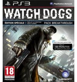JEU PS3 WATCH DOGS